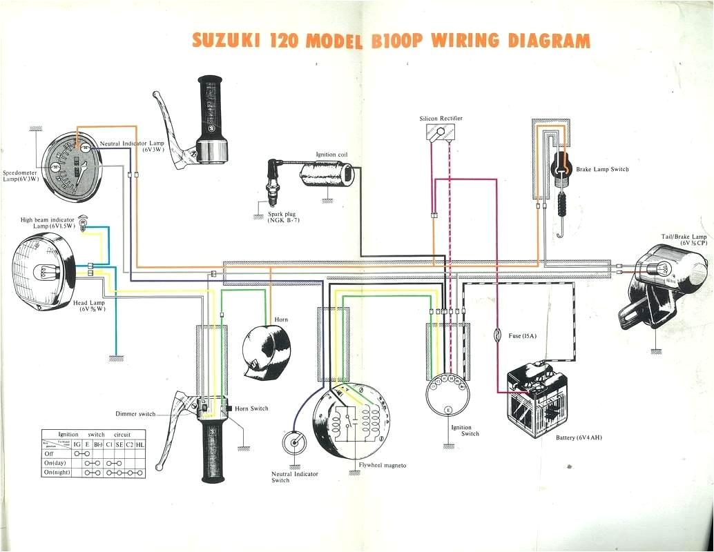 suzuki dr 125 wiring diagram