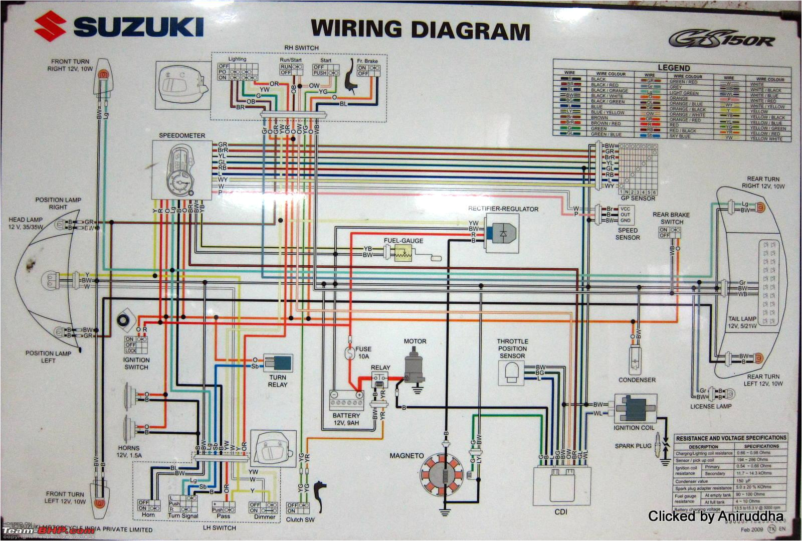 wiring diagrams of indian two wheelers team bhpwiring diagrams of indian two wheelers img 0717 jpg suzuki