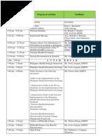 program of activities confe 2014 ver4 2