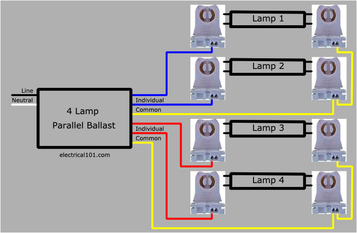 wiring diagram for 8 foot 4 lamp t8 ballast wiring diagrams schema 4 lamp t8 ballast