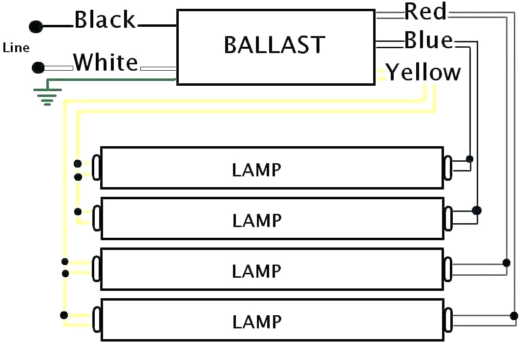 wiring diagram for 8 foot 4 lamp t8 ballast wiring diagrams schema light ballast wiring diagram