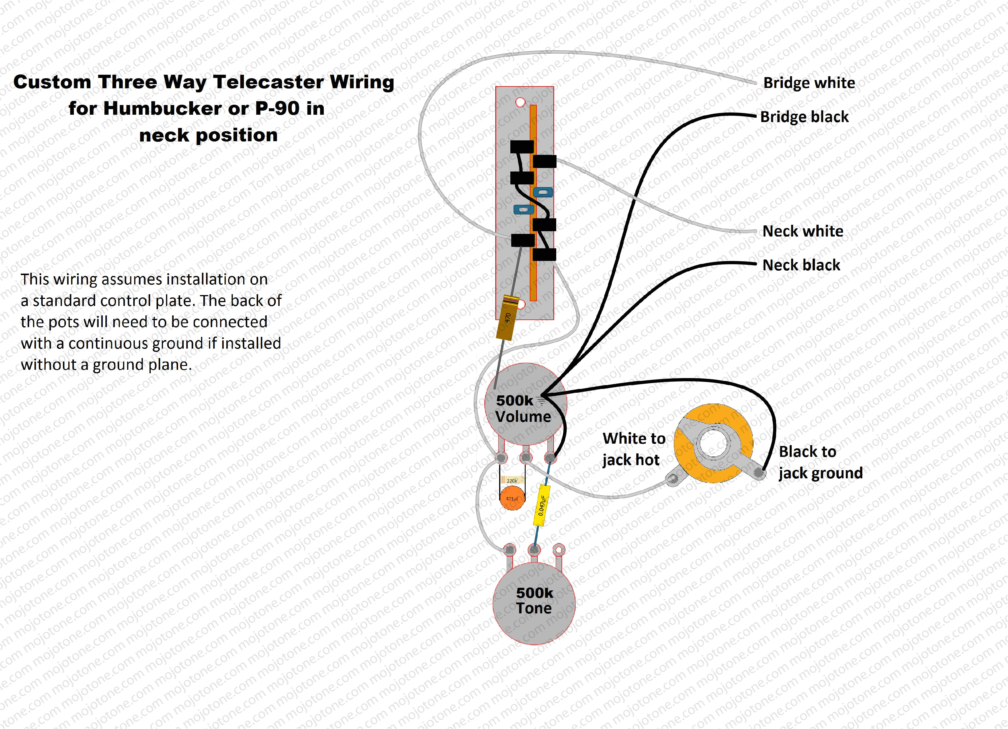 4 way tele switch with p90 help telecaster guitar forum custom for gfs pickups wiring diagram pickup jpg