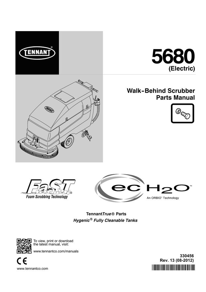 tennant 5680 manual
