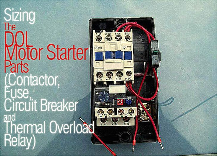 sizing dol motor starter parts jpg