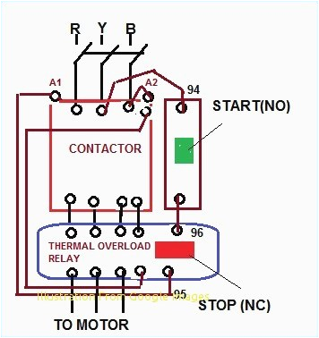 Thermal Overload Relay Wiring Diagram thermal Overload Relay Wiring Diagram Elegant thermal Overload Relay