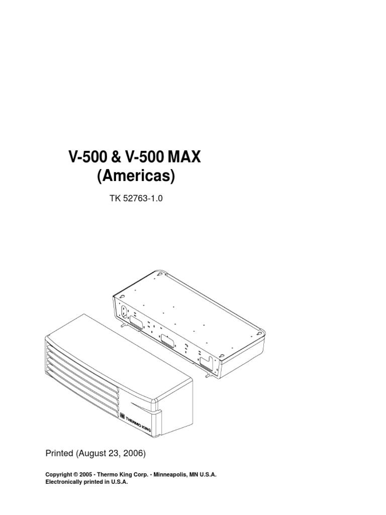 v 500 v 500 max americas 52763 18 pm rev 1 electrical connector manufactured goods