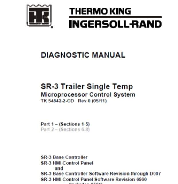 thermo king sr 3 front cover