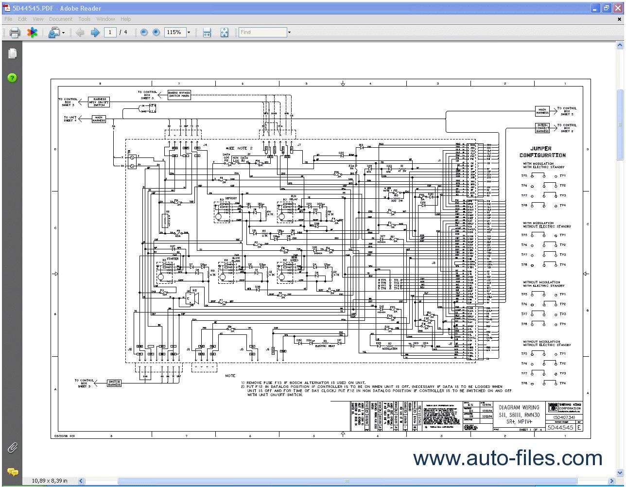 thermo king tripac apu wiring diagram wiring in 2019 diagramthermo king tripac apu wiring diagram