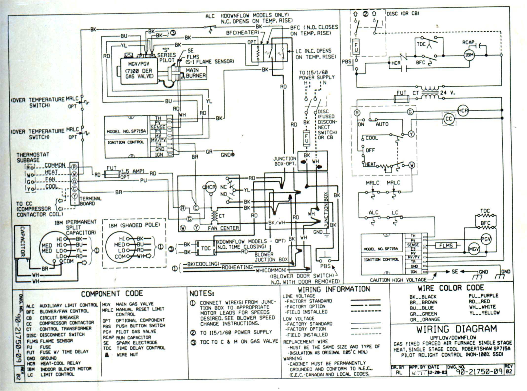 trane gas furnace wiring diagram wiring diagram post henry old furnace wiring diagram