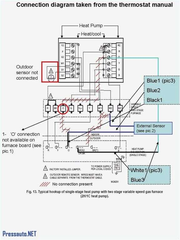 Thermostat Wiring Diagram Honeywell thermostat Hookup Turek2014 Info