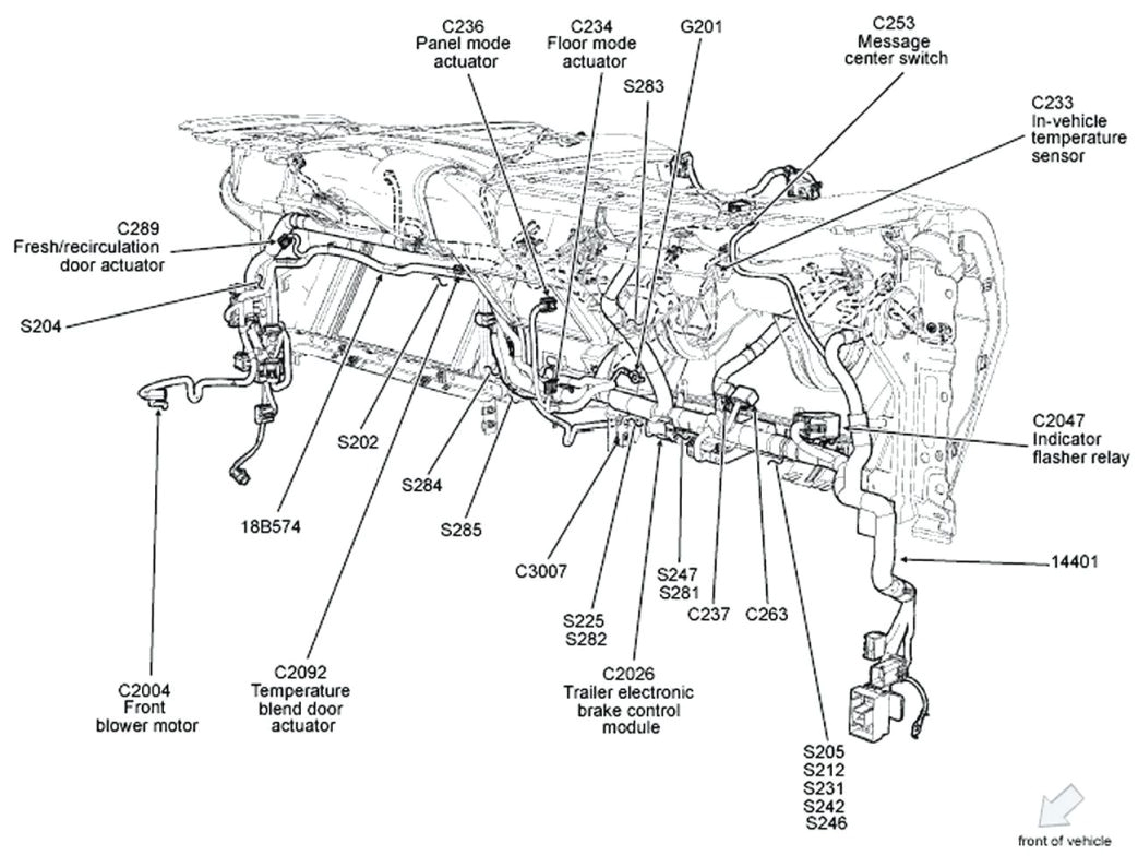 ford ignition switch wiring diagram volovetsfo