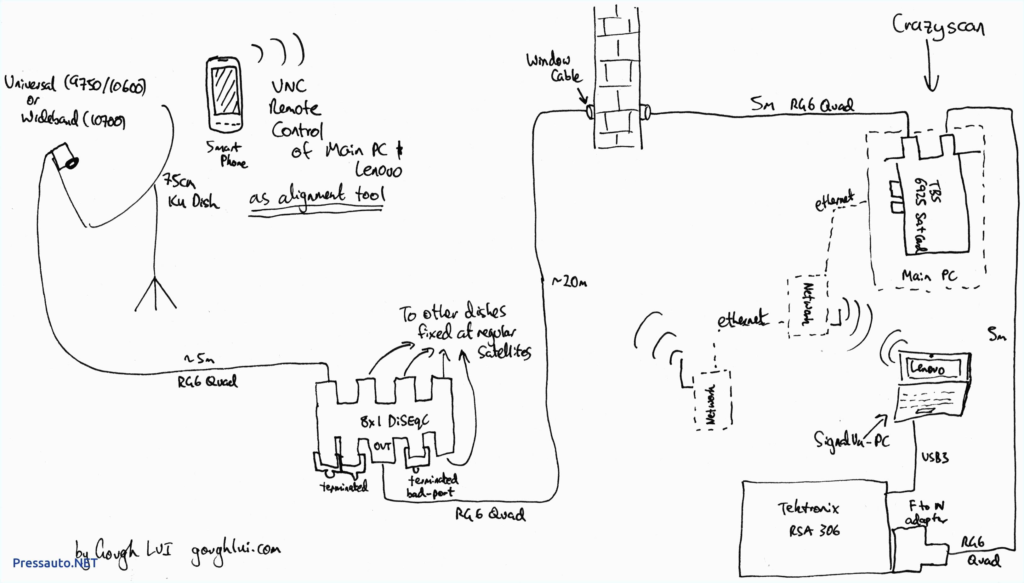 hd satellite dish wiring diagram best of directv swm 8