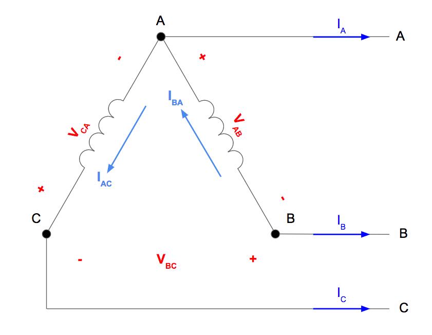open delta connection diagram 2