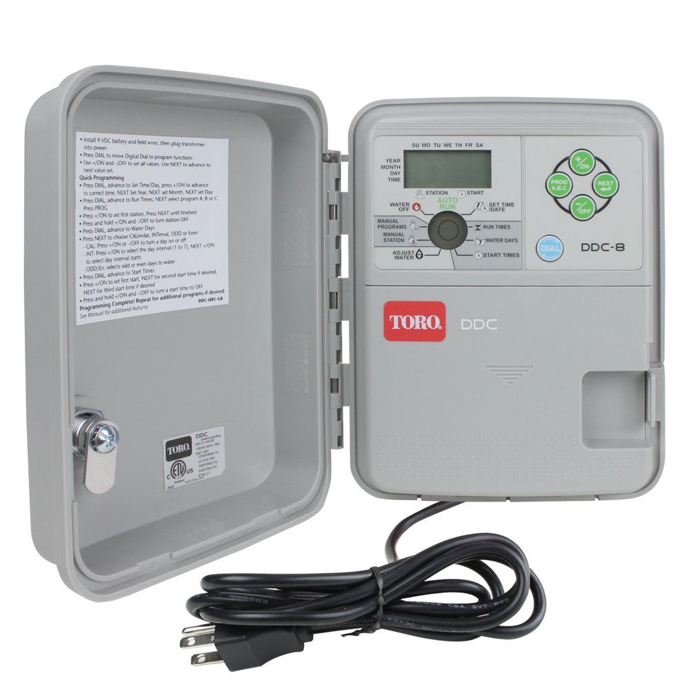 toro ddc indoor outdoor 8 station controller