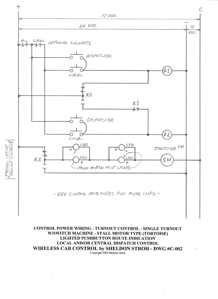 Tortoise Switch Machine Wiring Diagram Turnout Control Methods Model Railroader Magazine Model