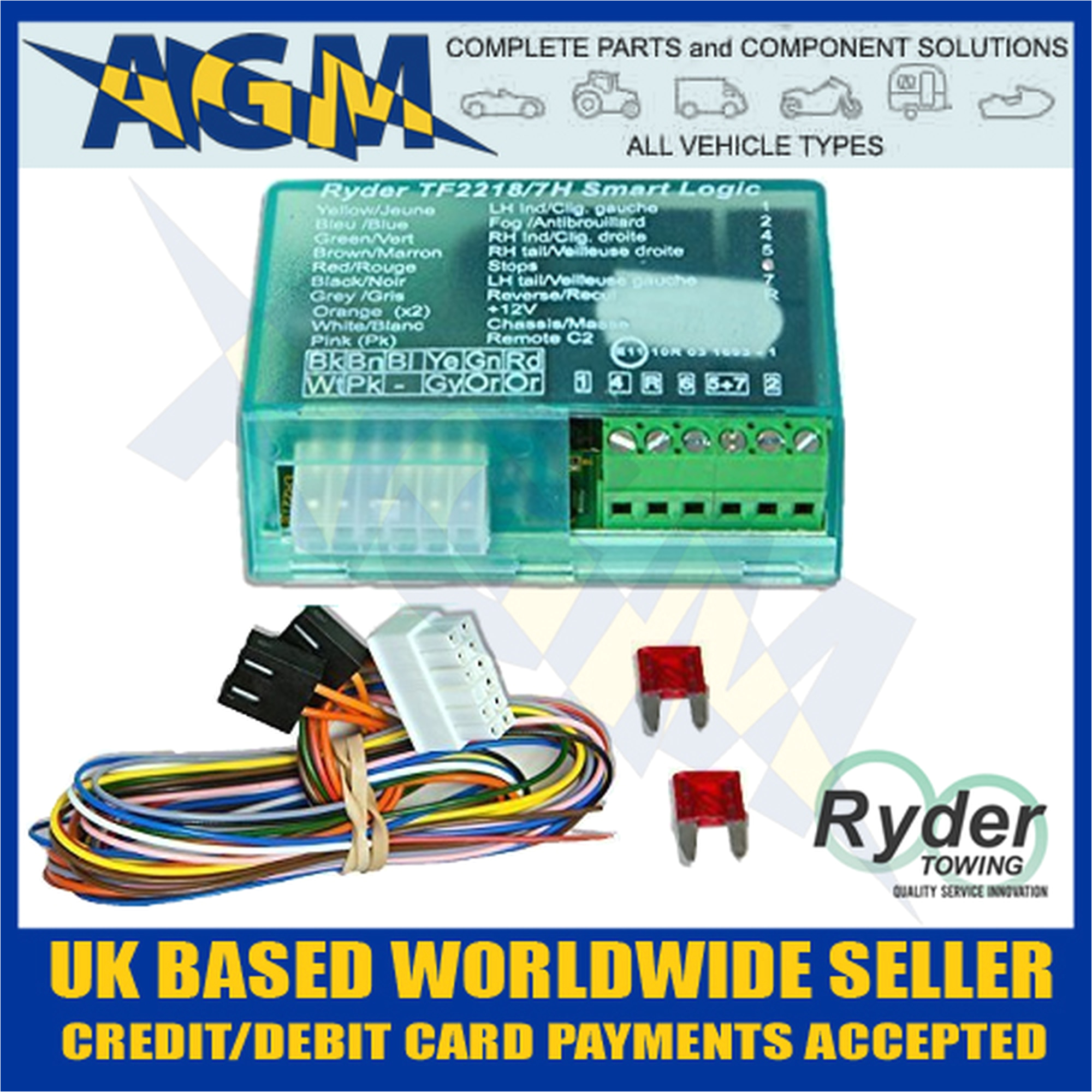 ryder smart logic bypass relay tf2218 7h can