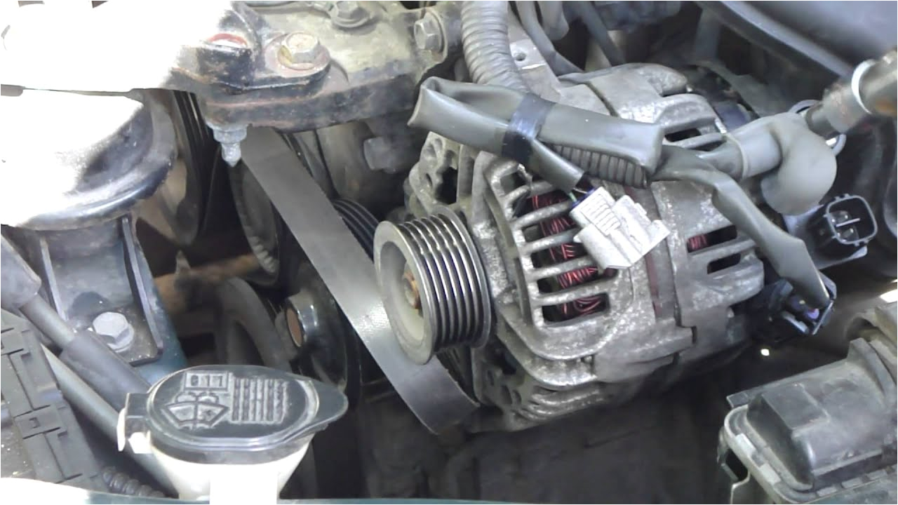 Toyota Corolla Alternator Wiring Diagram How to Change Alternator toyota Corolla Vvt I Engine Years 2000