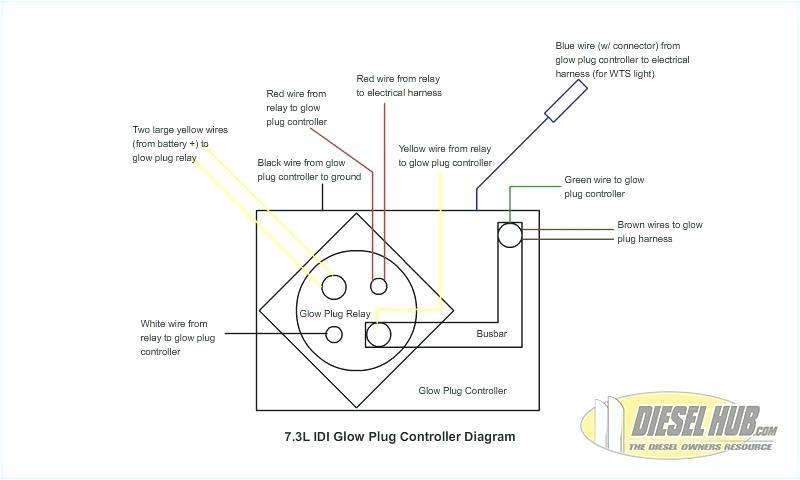 wiring diagram for glow plug relay 7 3 schema wiring diagram 7 3 glow plug relay wiring