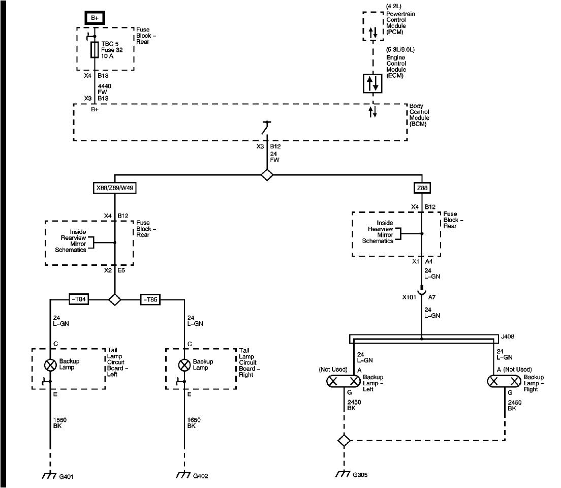rear lights wiring diagram chevy trailblazer ss forum chevy trailblazer tail light wiring diagram