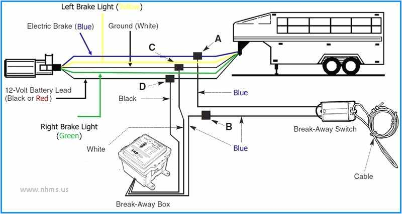 trailer brake battery wiring diagram wiring diagram centretrailer brake battery wiring diagram