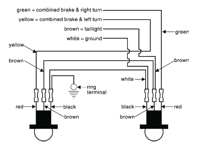 truck led tail light wiring diagram wiring diagram expert led rear tail light wiring diagram 210