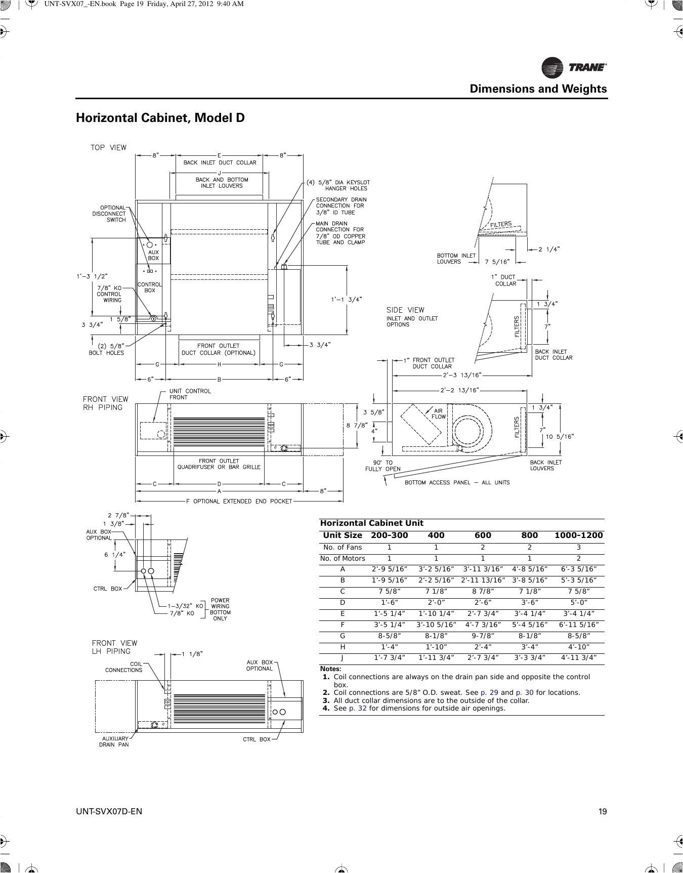 trane heat pump wiring diagram
