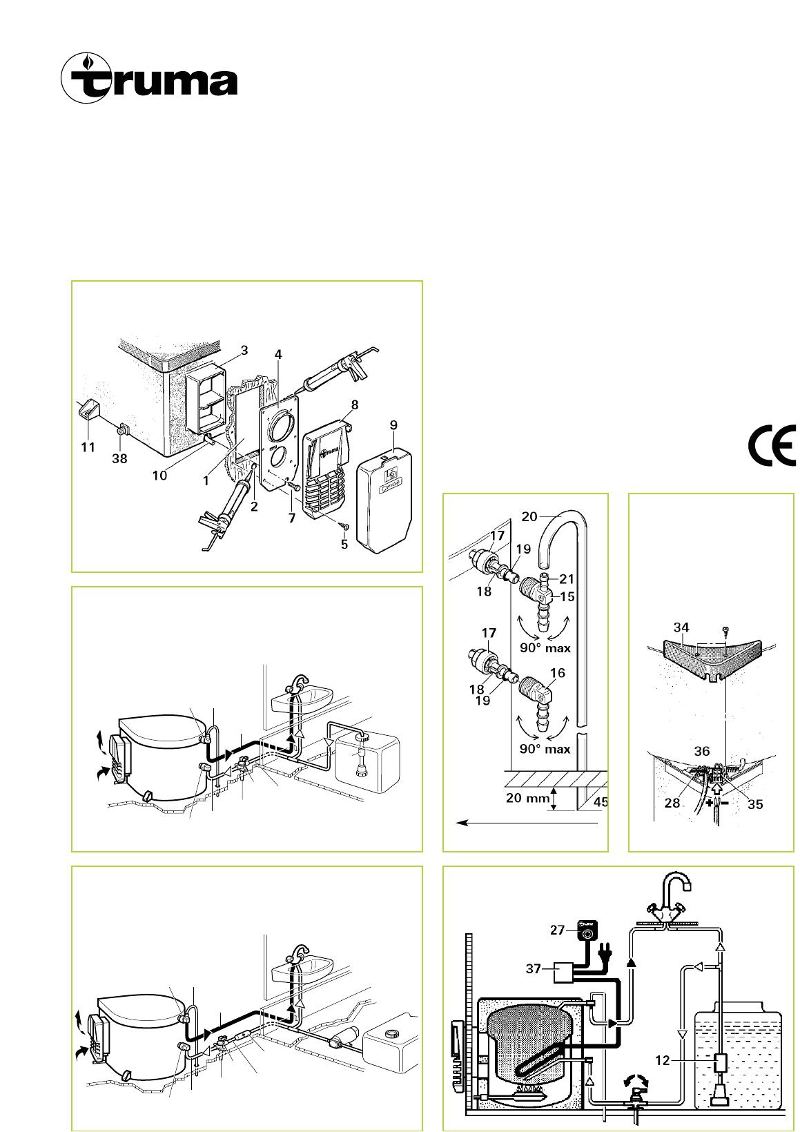 truma ultraheat wiring diagram inspirational manual truma ultrastore page 3 of 10 english