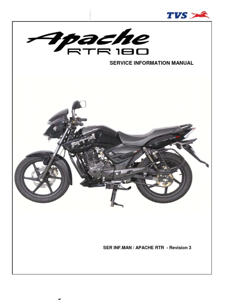 Tvs Apache Rtr 160 Wiring Diagram Tvs Apache Rtr 180 Service Manual Tire Carburetor