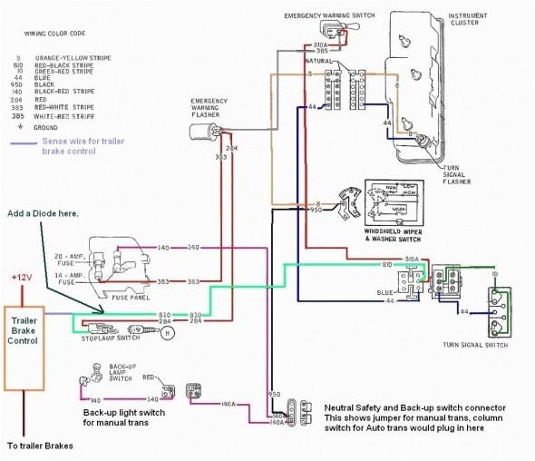 u haul trailer brake controller wiring diagram