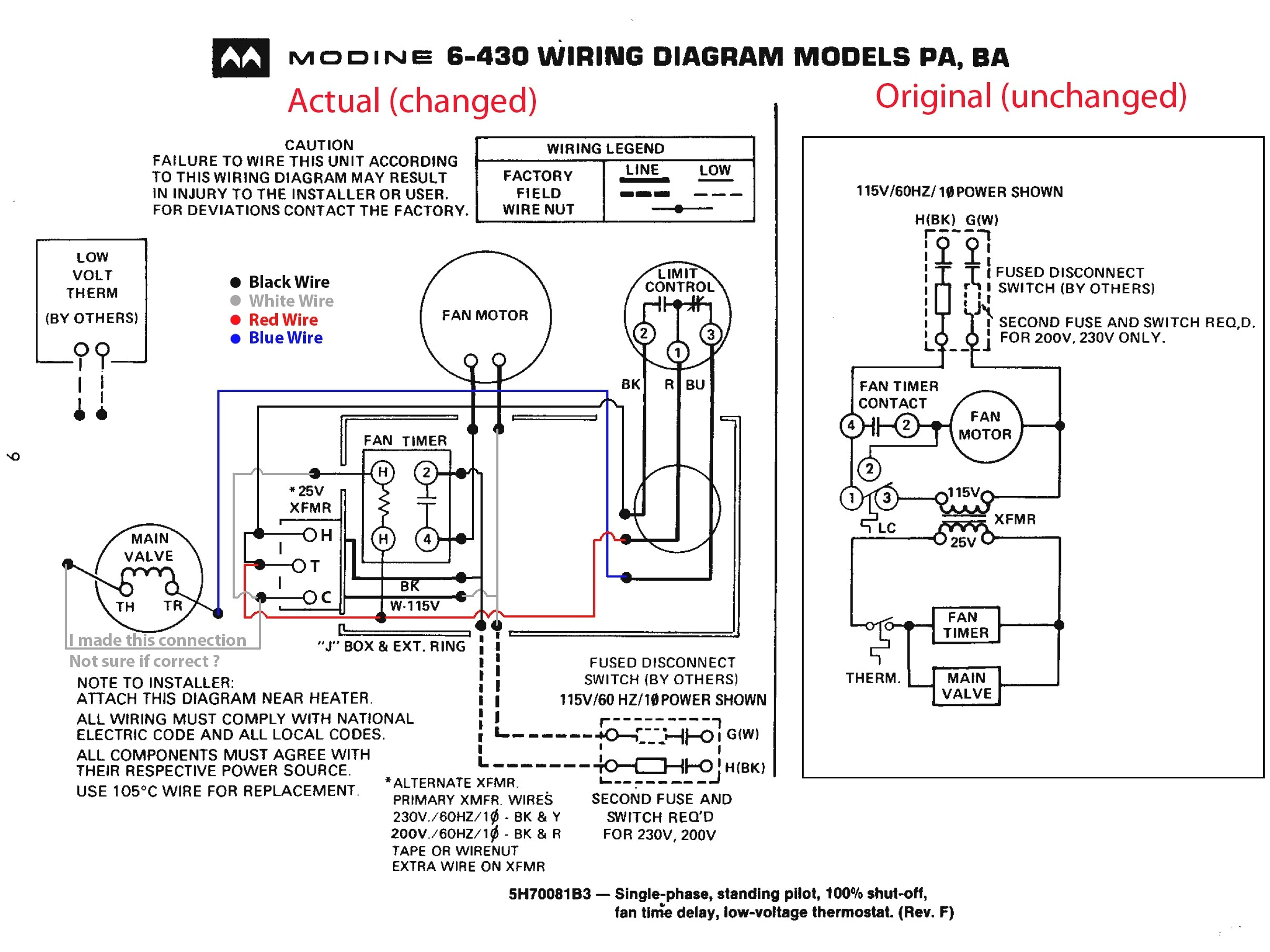 Unit Heater Wiring Diagram Rv Heater Diagram Wiring Diagram Go
