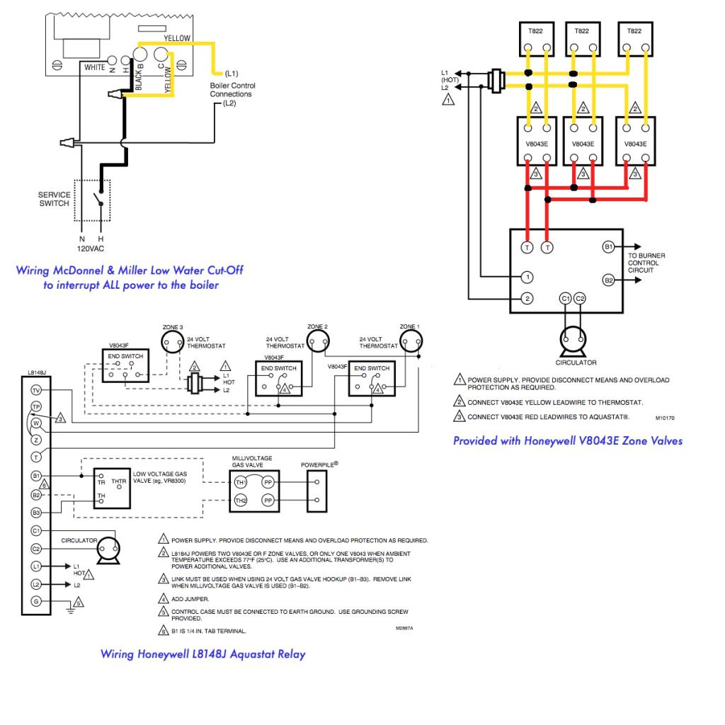 V8043e1012 Wiring Diagram 4 Wire Zone Valve Diagram Wiring Diagram Fascinating