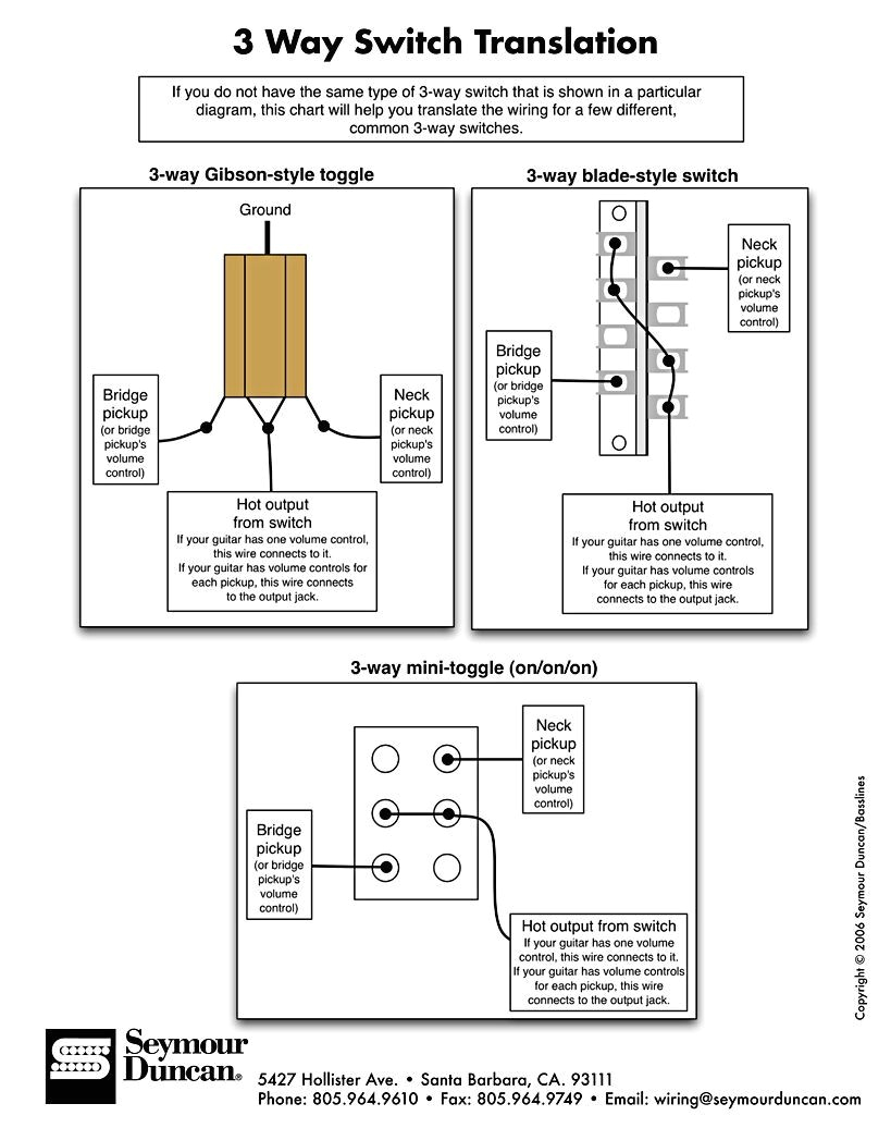 3 position toggle switch wiring diagram the guitar blog diagrams and tips pickup selector connections way