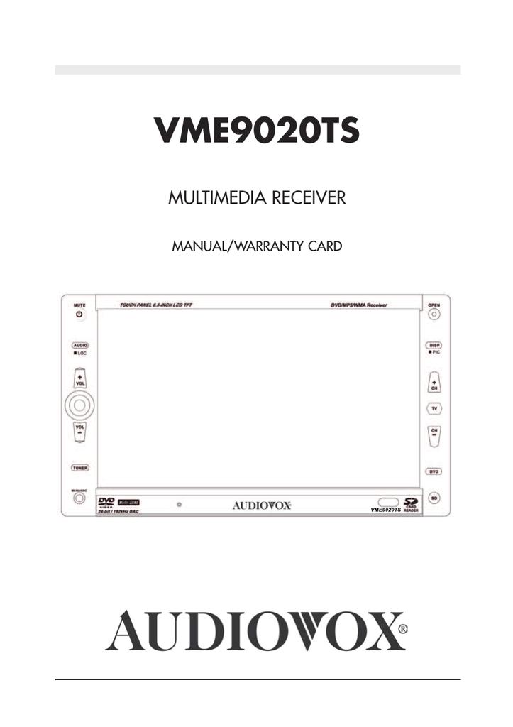 Valor Its 702w Wiring Diagram Audiovox D1708pk Operating Instructions Manualzz Com