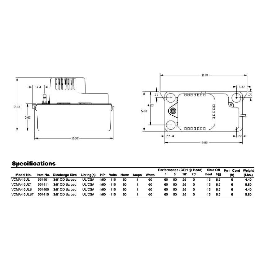 Vcma 20uls Wiring Diagram Vcma 20uls 554425