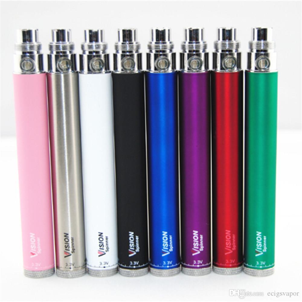 ecig ego vision spinner 1 batteries ego c twist battery for ecigarettes ce3 ce4 mt3 vaporizer atomizer vape pens vs vision spinner 2 e power battery 18650