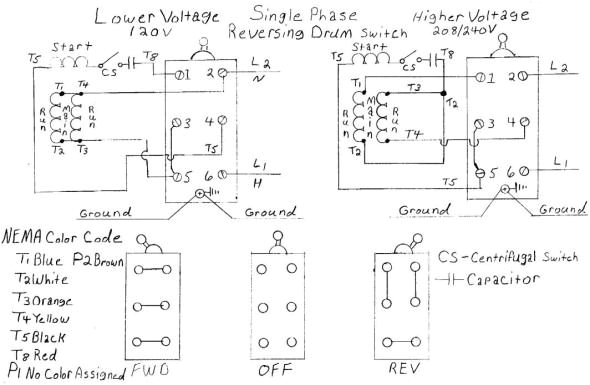 Vista 20 Wiring Diagram Dual Voltage Single Phase Motor Wiring Diagram Diagram Diagram Wire