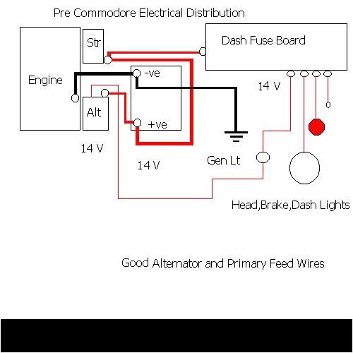 Vn Commodore Wiring Diagram Dim Lights Holdenpaedia