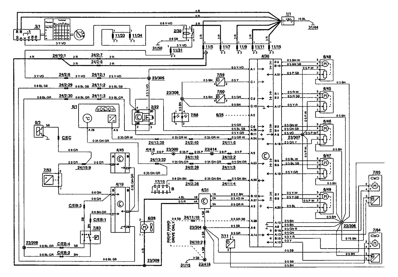 volvo 850 speaker wiring wiring diagram go 1995 volvo 850 radio wiring diagram volvo 850 wiring diagram radio