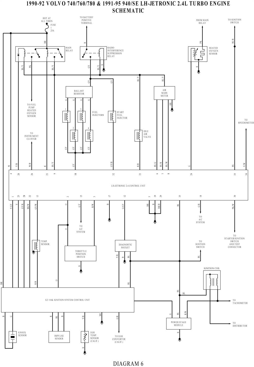 1995 volvo 940 radio wiring wiring diagram
