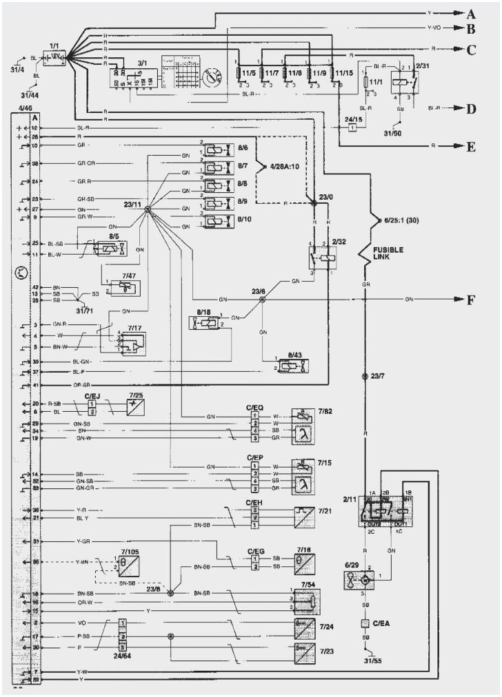 1996 volvo 850 wiring diagram