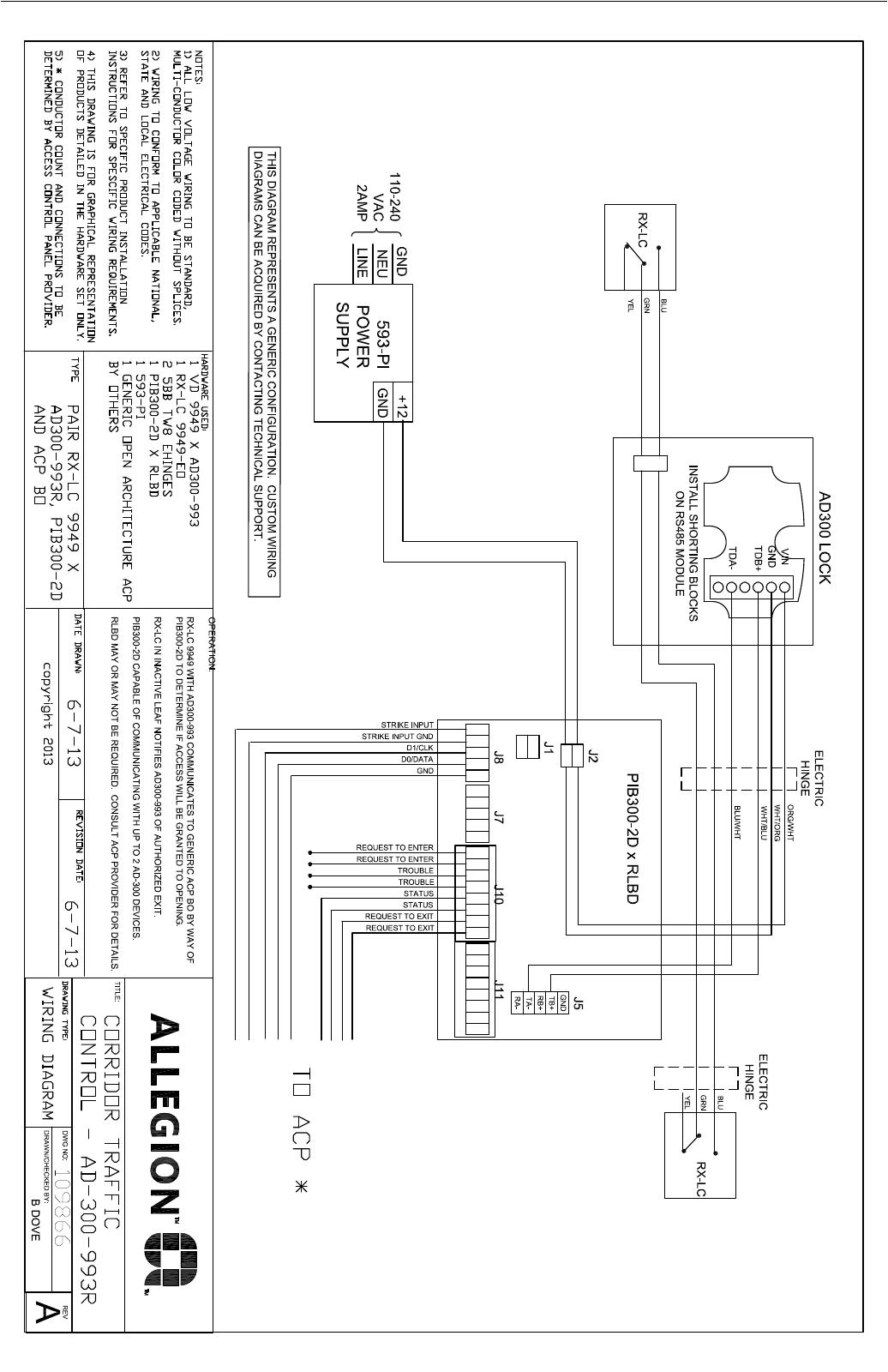 von duprin corridor traffic control application illustration andpage 3 of 3 von duprin corridor traffic control