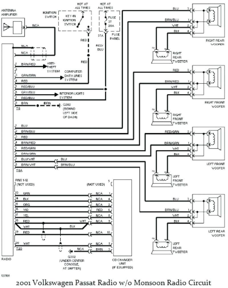 gauge wiring diagram in addition 2001 vw passat radio new jetta jpg