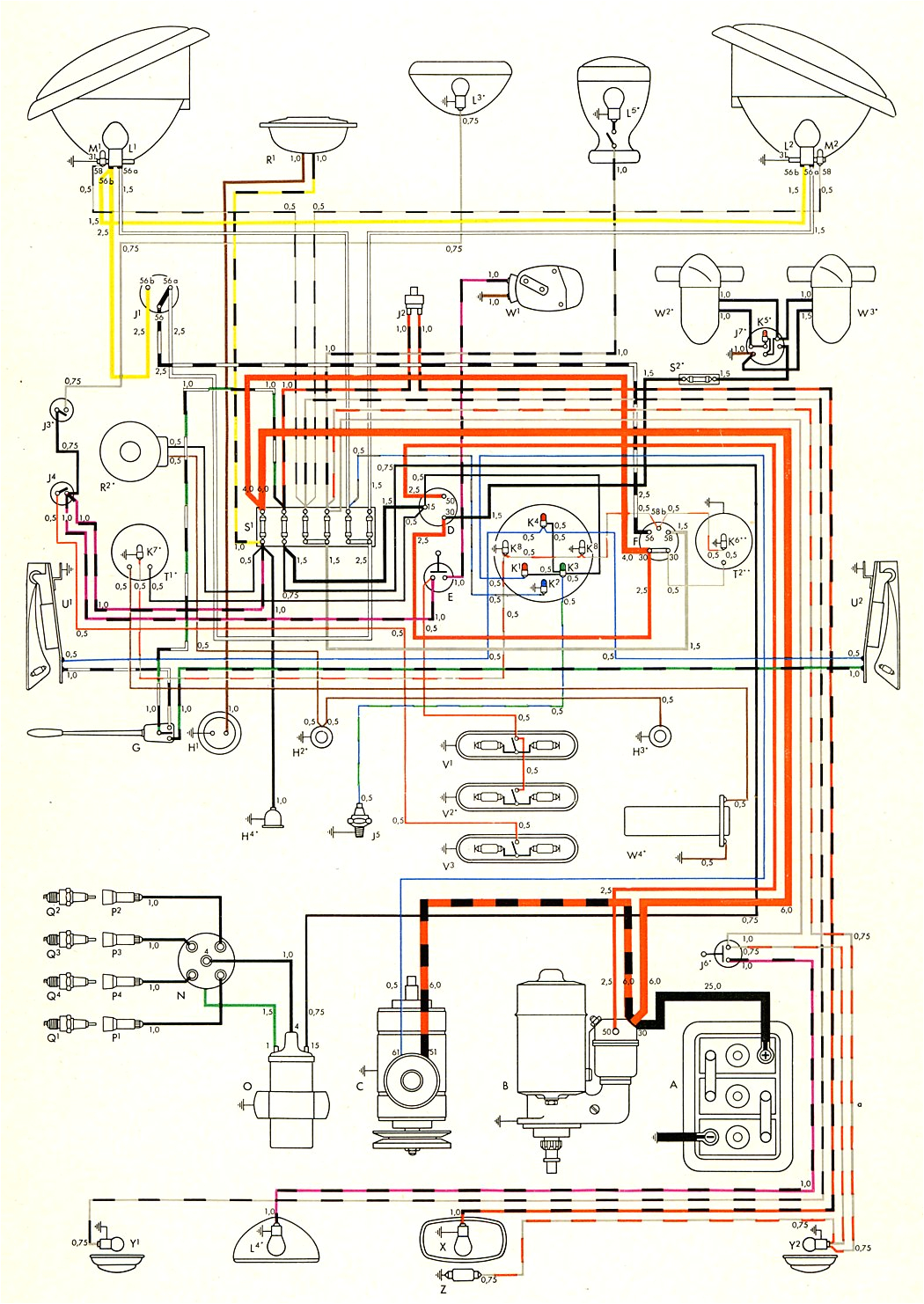 1957 nov 1957 turn signal wiring