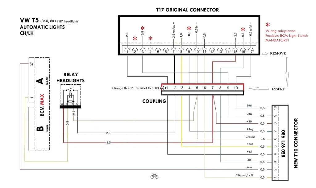 t5 headlight wiring diagram wiring diagram namet5 headlight wiring diagram wiring diagrams vw t5 headlight wiring