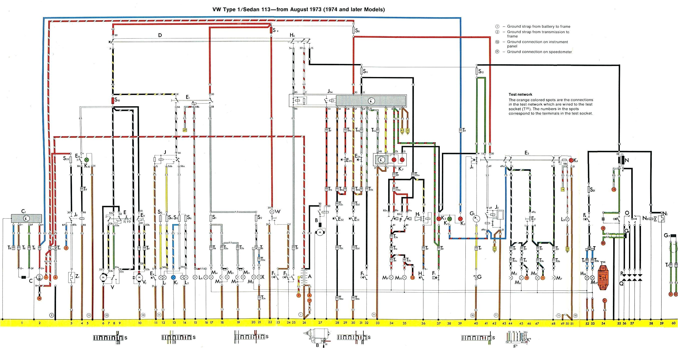 fuse box vw thing wiring diagram mega