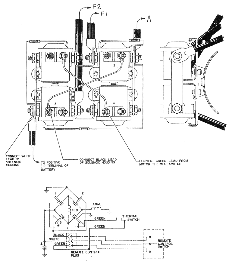 warn winch motor wiring diagram schematic diagram database mix warn winch wiring diagrams nc4x4 warn winch