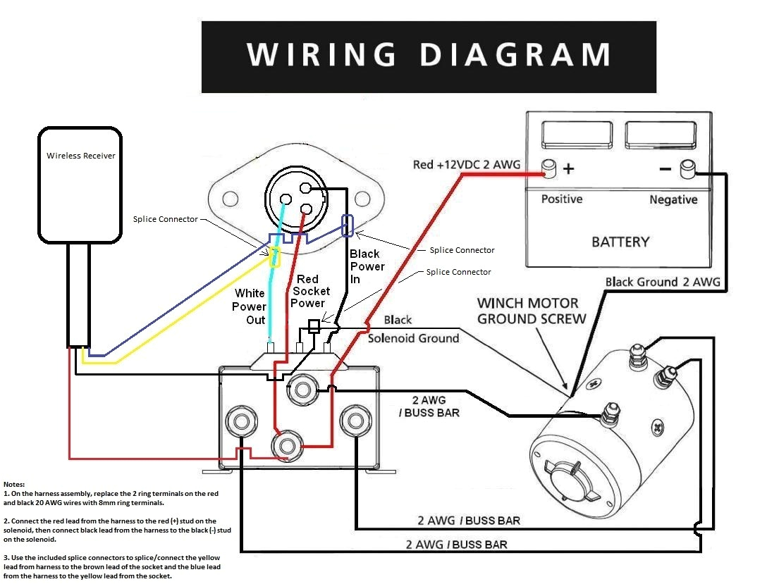 winch remote control wiring diagram and strap for atv plow within warn switch jpg