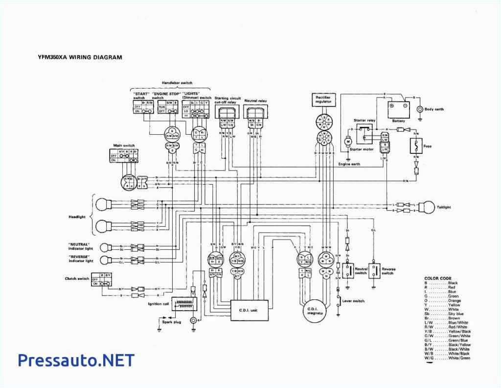 yamaha warrior 350 wiring diagram lovely yamaha warrior 350 wiring diagram pressauto net inside random