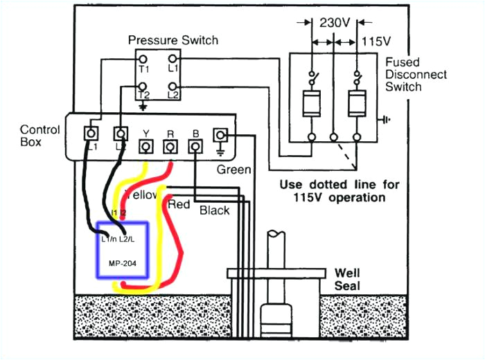 how to wire a well pump pressure switch 3 wire well pump wiring diagram free download