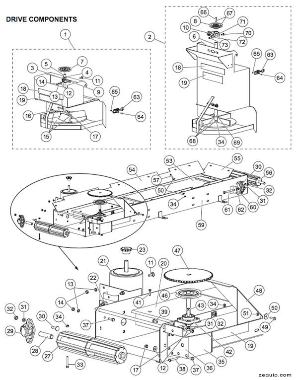 western tornado drive parts diagram